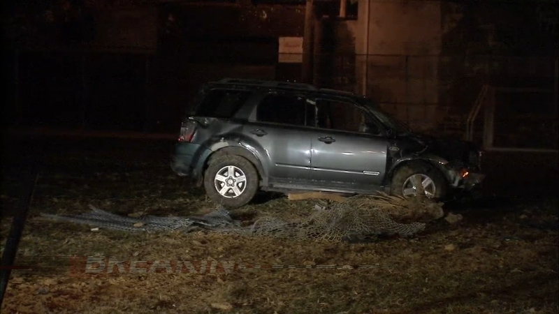 Carjacking Suspect Crashes Near Philadelphia Elementary School