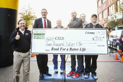 "<div class=""meta image-caption""><div class=""origin-logo origin-image none""><span>none</span></div><span class=""caption-text"">At least $7K was raised for CISD's Read for a Better Life initiative through the Kids Running for Kids fundraising event on Saturday (Michael Minasi/HCN)</span></div>"