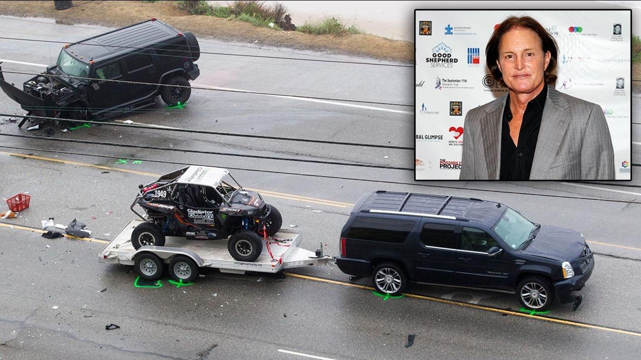 Bruce Jenner's SUV
