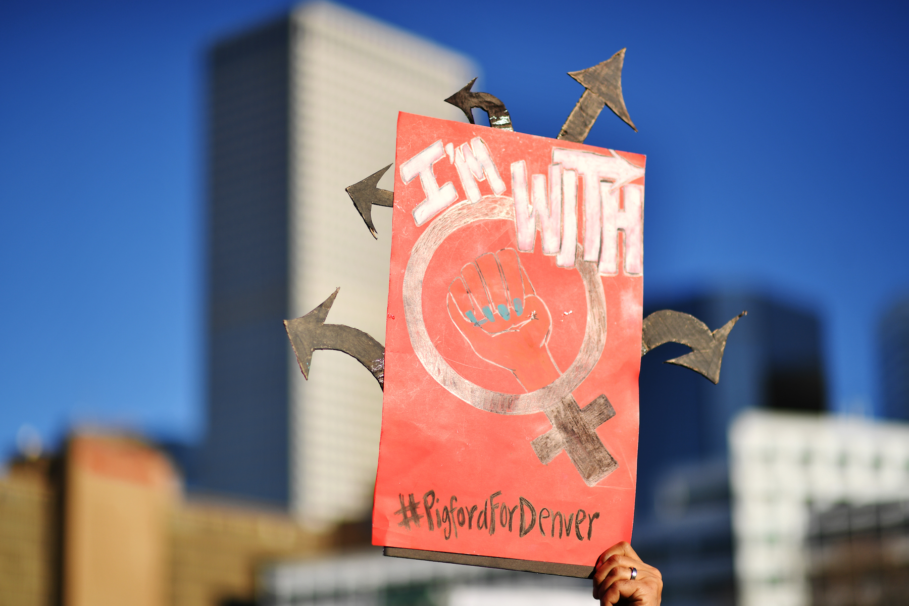 "<div class=""meta image-caption""><div class=""origin-logo origin-image kabc""><span>kabc</span></div><span class=""caption-text"">Tony Pigford of Denver holds the sign during the Women's March on Denver at Civic Center Park in downtown Denver. January 19, 2019. (Hyoung Chang/Denver Post via Getty Images)</span></div>"
