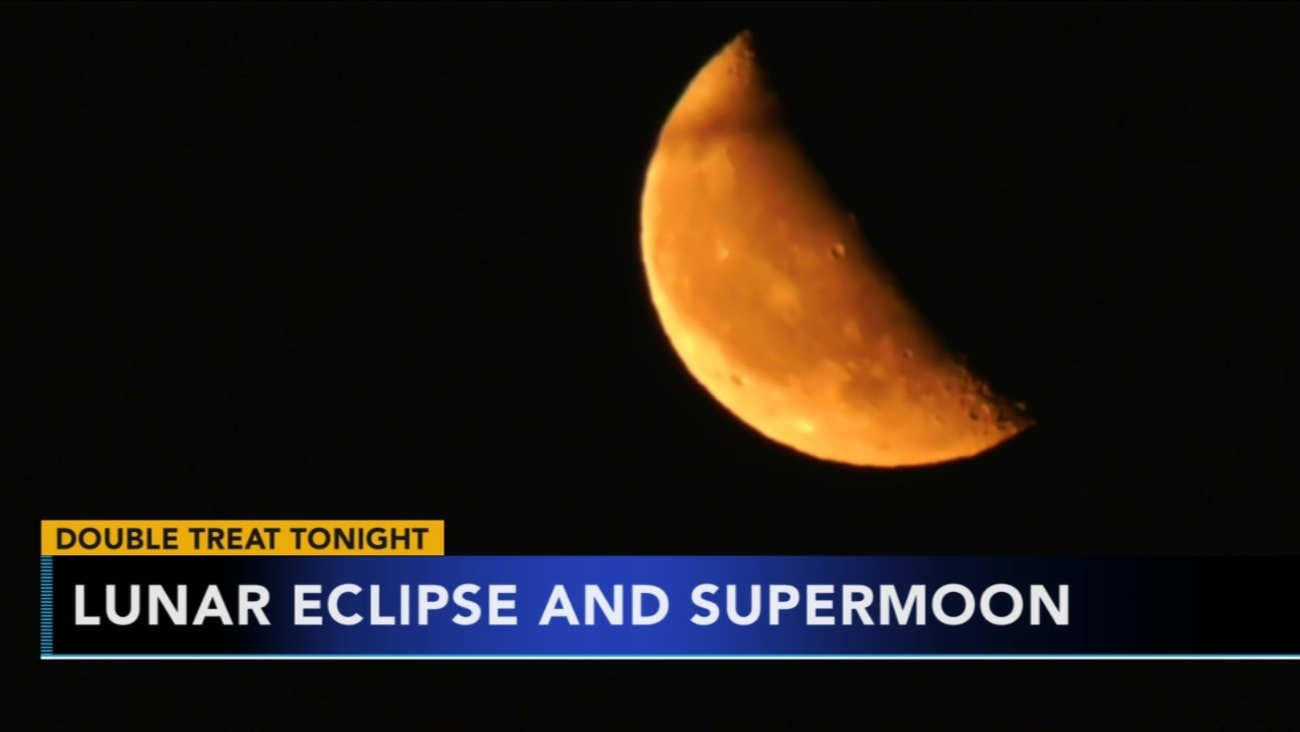Total Lunar Eclipse And Supermoon To Occur 6abc Com