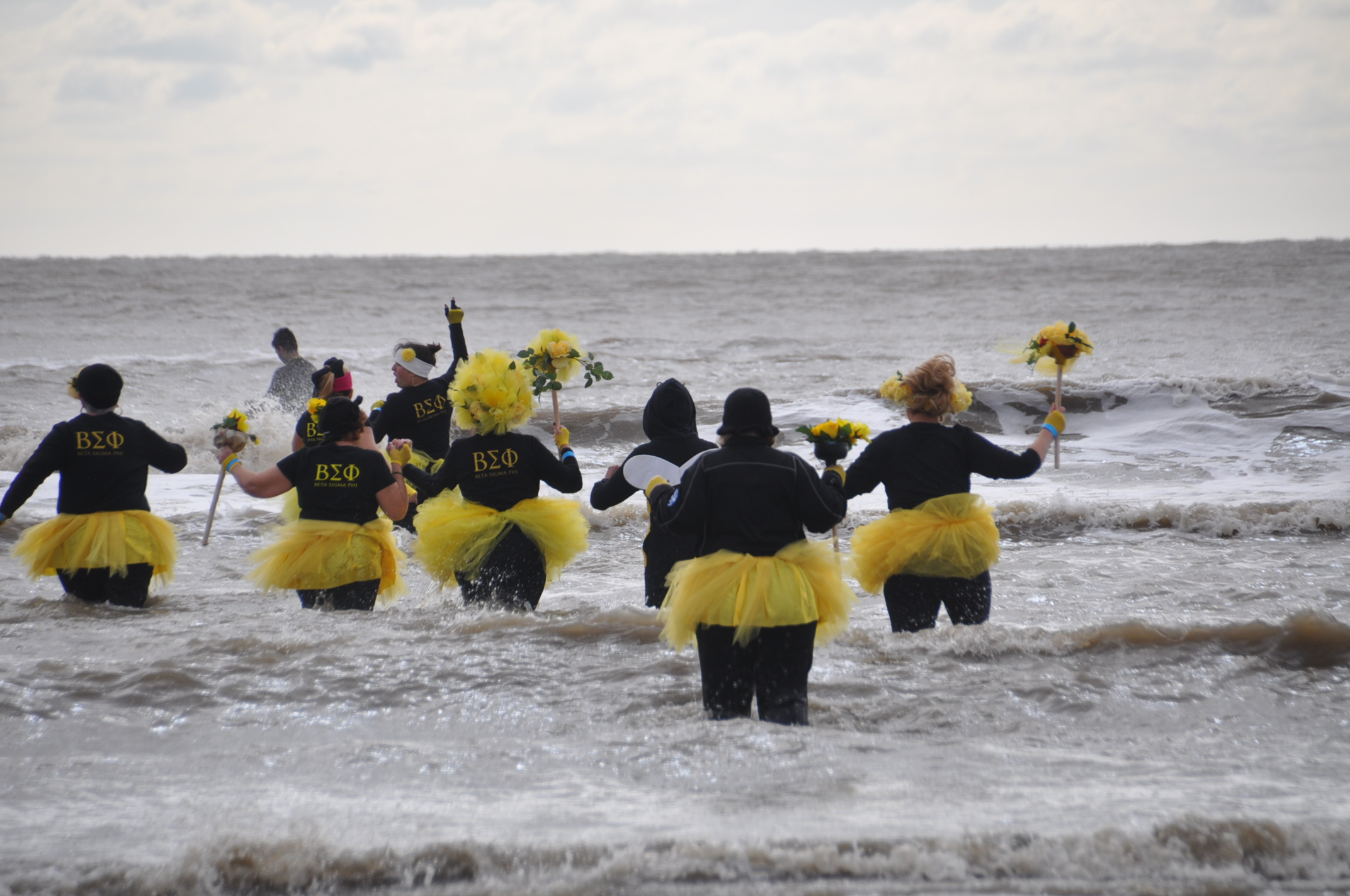 <div class='meta'><div class='origin-logo' data-origin='KTRK'></div><span class='caption-text' data-credit=''>More than 300 participants turned out for the 8th annual Polar Plunge at Stewart Beach in Galveston on Saturday, January 19, 2019.</span></div>