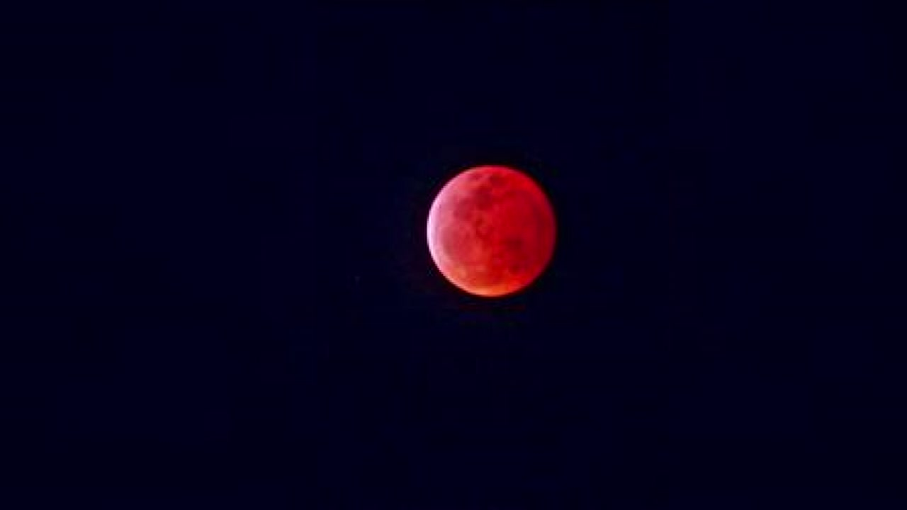 blood burning moon