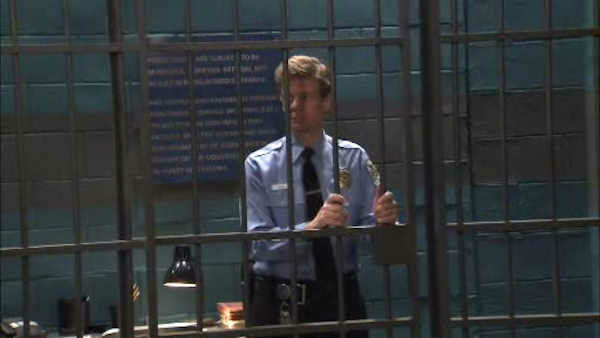 """<div class=""""meta image-caption""""><div class=""""origin-logo origin-image none""""><span>none</span></div><span class=""""caption-text"""">Eyewitness News entertainment reporter Sandy Kenyon played a small part as a prison guard on the daytime soap opera 'General Hospital'.</span></div>"""