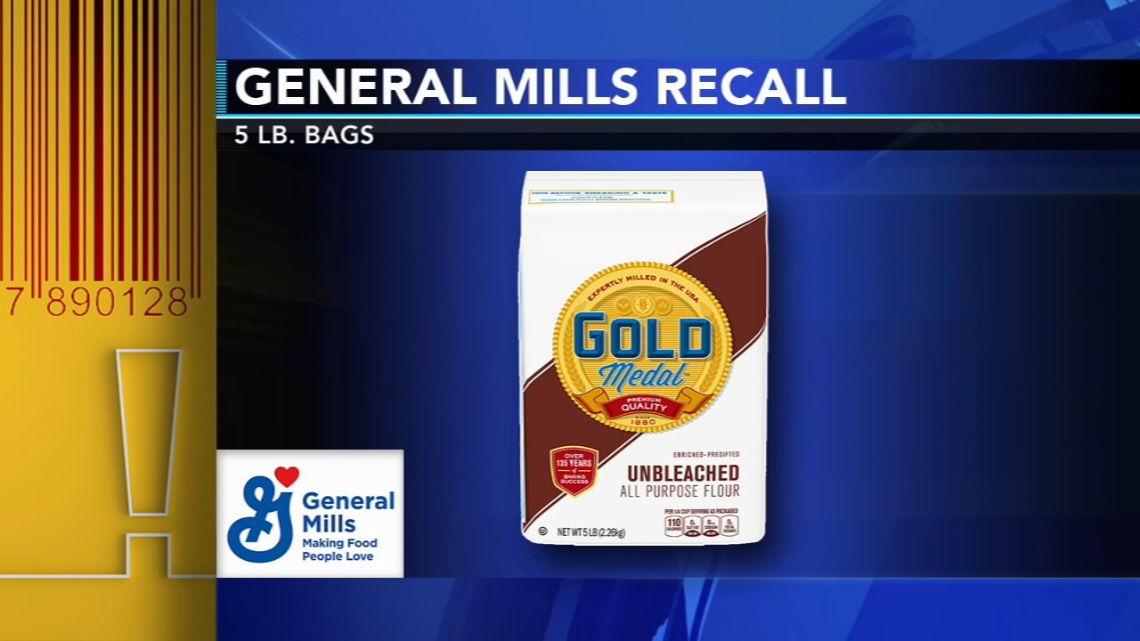 General Mills Recalls Bags Of Flour Over Salmonella Concerns 6abc Com