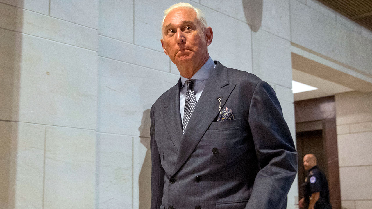 Trump ally Roger Stone sued by Justice Department over $2 million in unpaid taxes