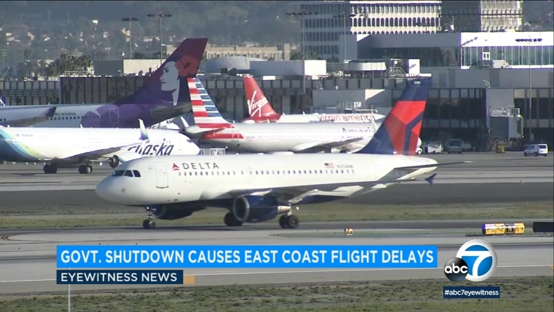 Several airports see delays due to government shutdown