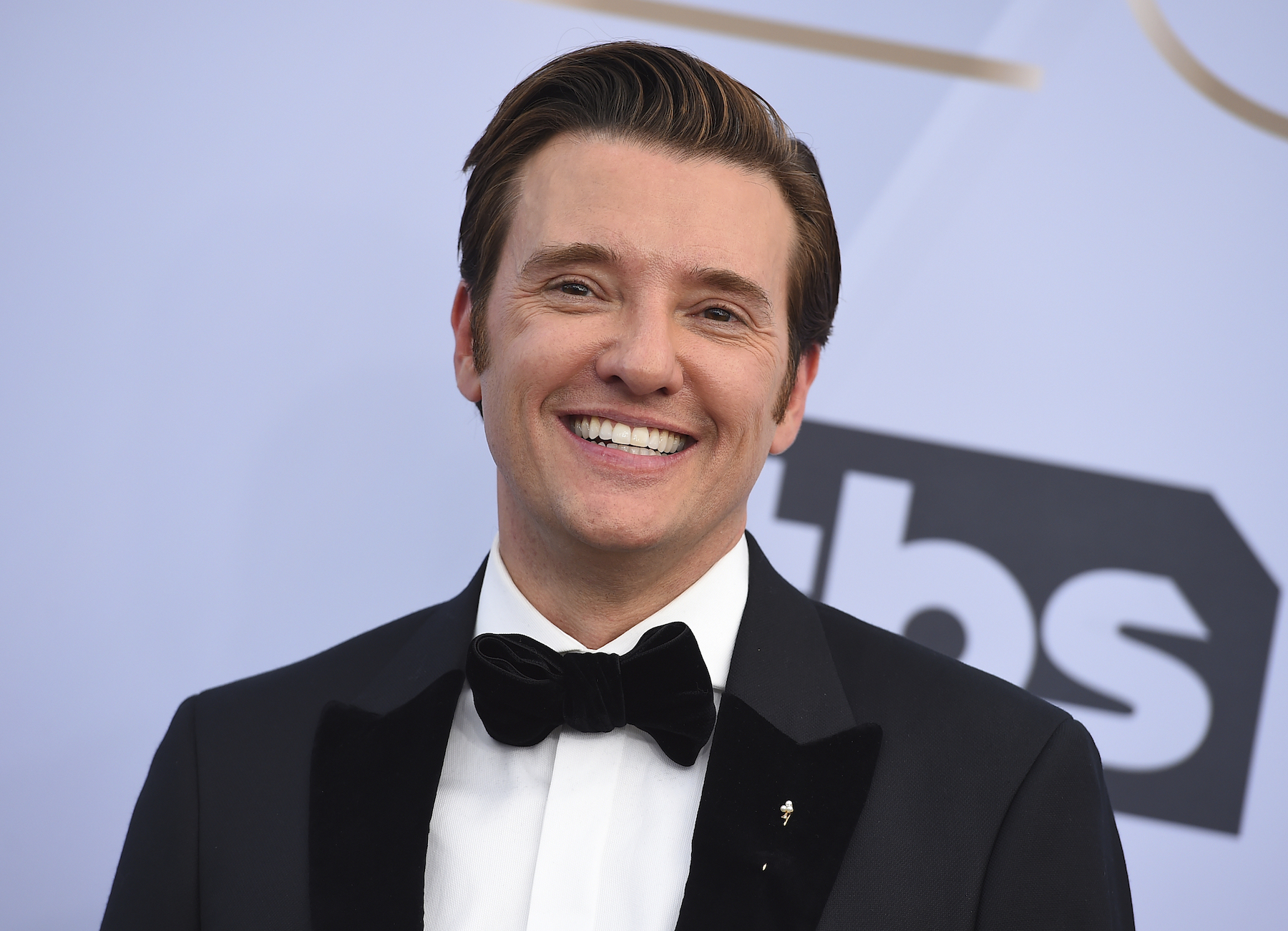 <div class='meta'><div class='origin-logo' data-origin='AP'></div><span class='caption-text' data-credit='Jordan Strauss/Invision/AP'>Jason Butler Harner arrives at the 25th annual Screen Actors Guild Awards at the Shrine Auditorium & Expo Hall on Sunday, Jan. 27, 2019, in Los Angeles.</span></div>
