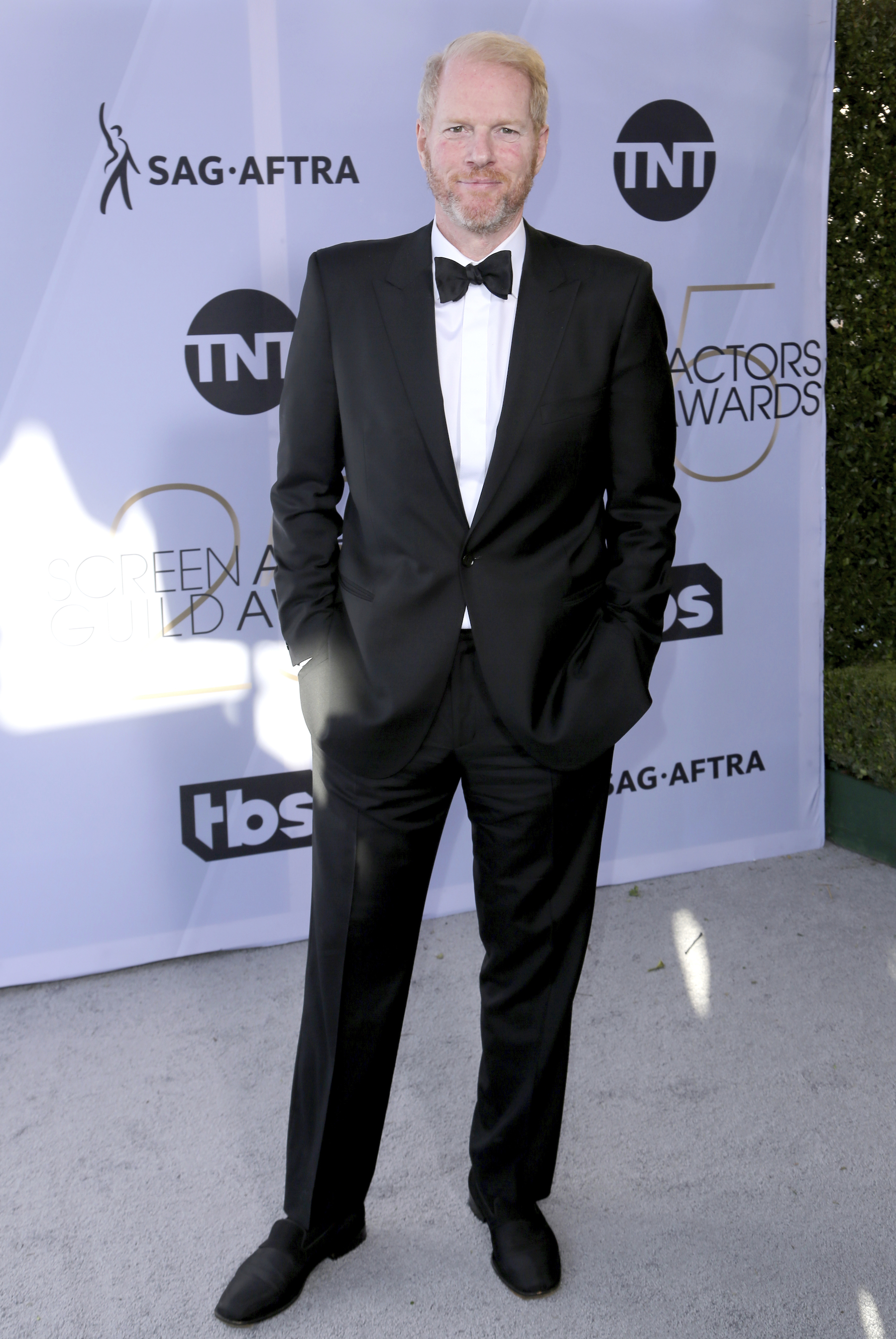 <div class='meta'><div class='origin-logo' data-origin='AP'></div><span class='caption-text' data-credit='Willy Sanjuan/Invision/AP'>Noah Emmerich arrives at the 25th annual Screen Actors Guild Awards at the Shrine Auditorium & Expo Hall on Sunday, Jan. 27, 2019, in Los Angeles.</span></div>