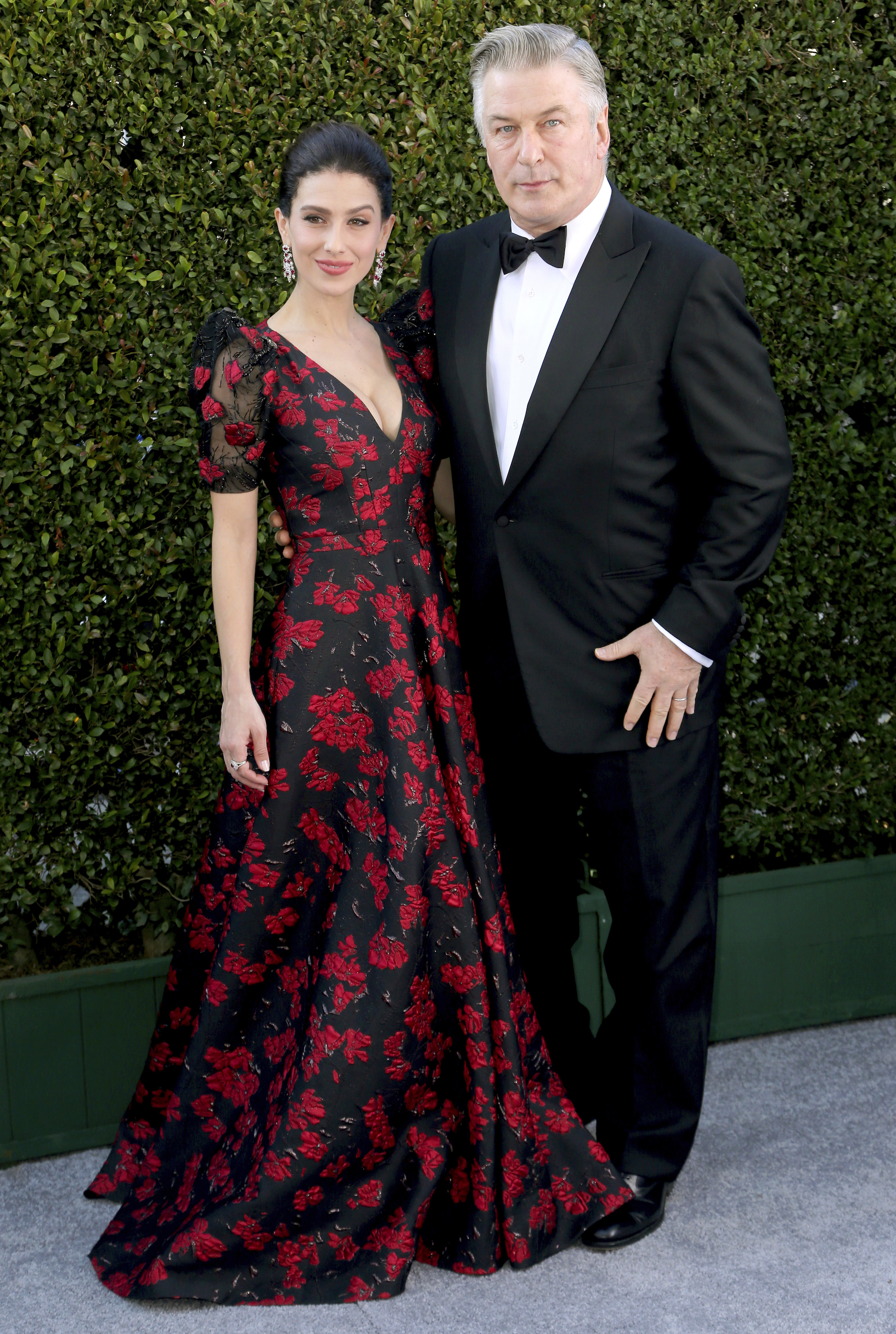 <div class='meta'><div class='origin-logo' data-origin='AP'></div><span class='caption-text' data-credit='Willy Sanjuan/Invision/AP'>Alec Baldwin, right, and Hilaria Baldwin arrive at the 25th annual Screen Actors Guild Awards at the Shrine Auditorium & Expo Hall on Sunday, Jan. 27, 2019, in Los Angeles.</span></div>