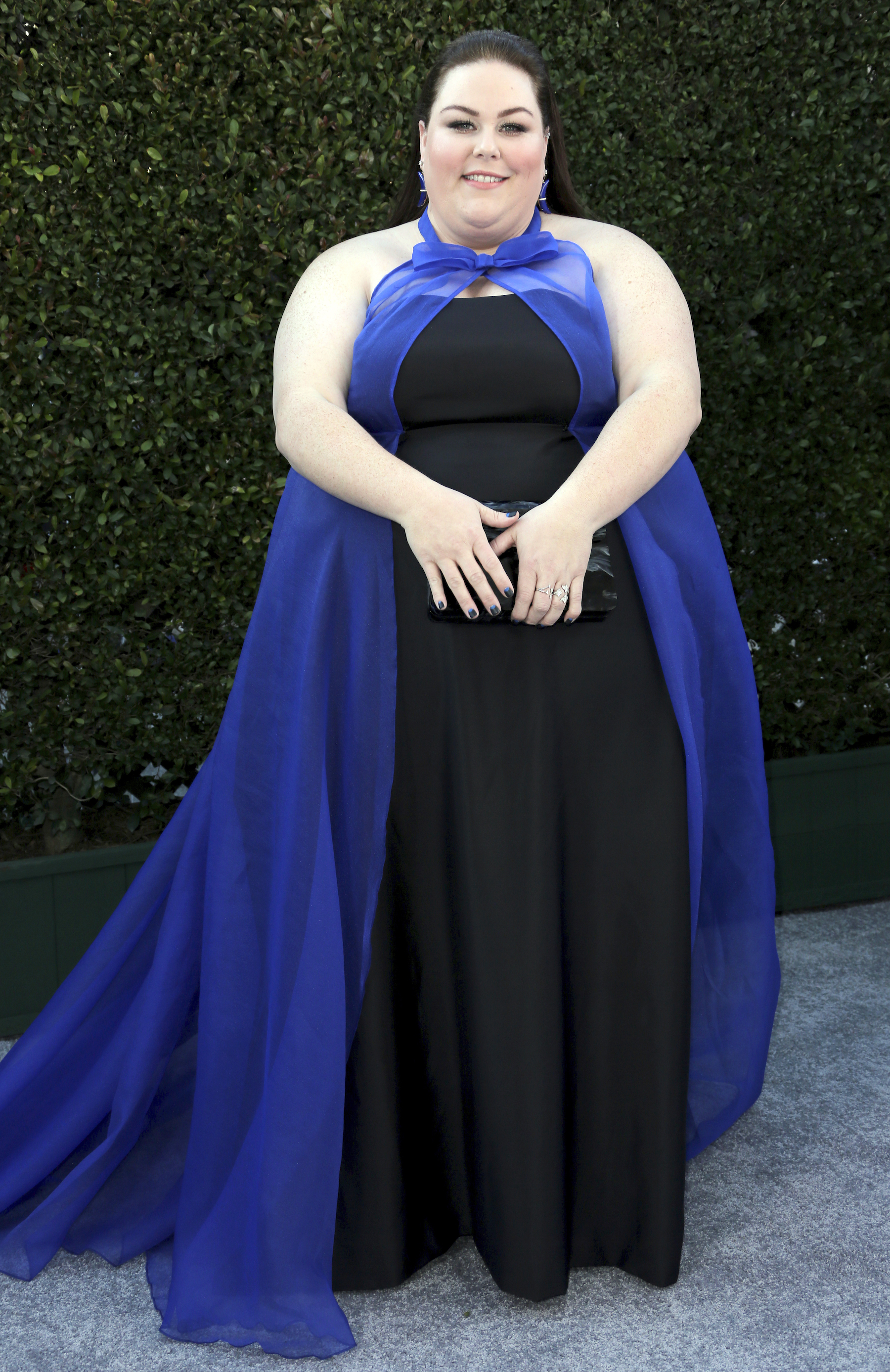 "<div class=""meta image-caption""><div class=""origin-logo origin-image ap""><span>AP</span></div><span class=""caption-text"">Chrissy Metz arrives at the 25th annual Screen Actors Guild Awards at the Shrine Auditorium & Expo Hall on Sunday, Jan. 27, 2019, in Los Angeles. (Willy Sanjuan/Invision/AP)</span></div>"