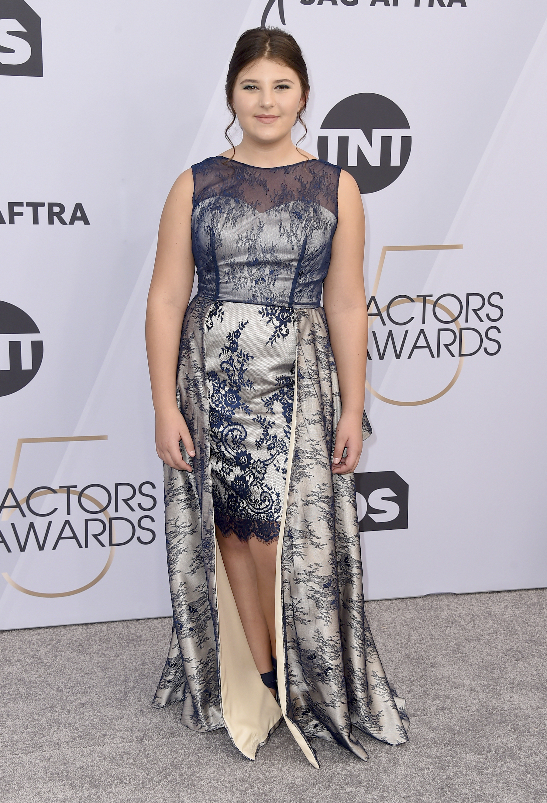 "<div class=""meta image-caption""><div class=""origin-logo origin-image ap""><span>AP</span></div><span class=""caption-text"">Mackenzie Hancsicsak arrives at the 25th annual Screen Actors Guild Awards at the Shrine Auditorium & Expo Hall on Sunday, Jan. 27, 2019, in Los Angeles. (Jordan Strauss/Invision/AP)</span></div>"
