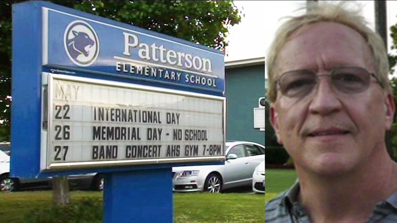 Patterson elementary school teacher Frederick Berg.