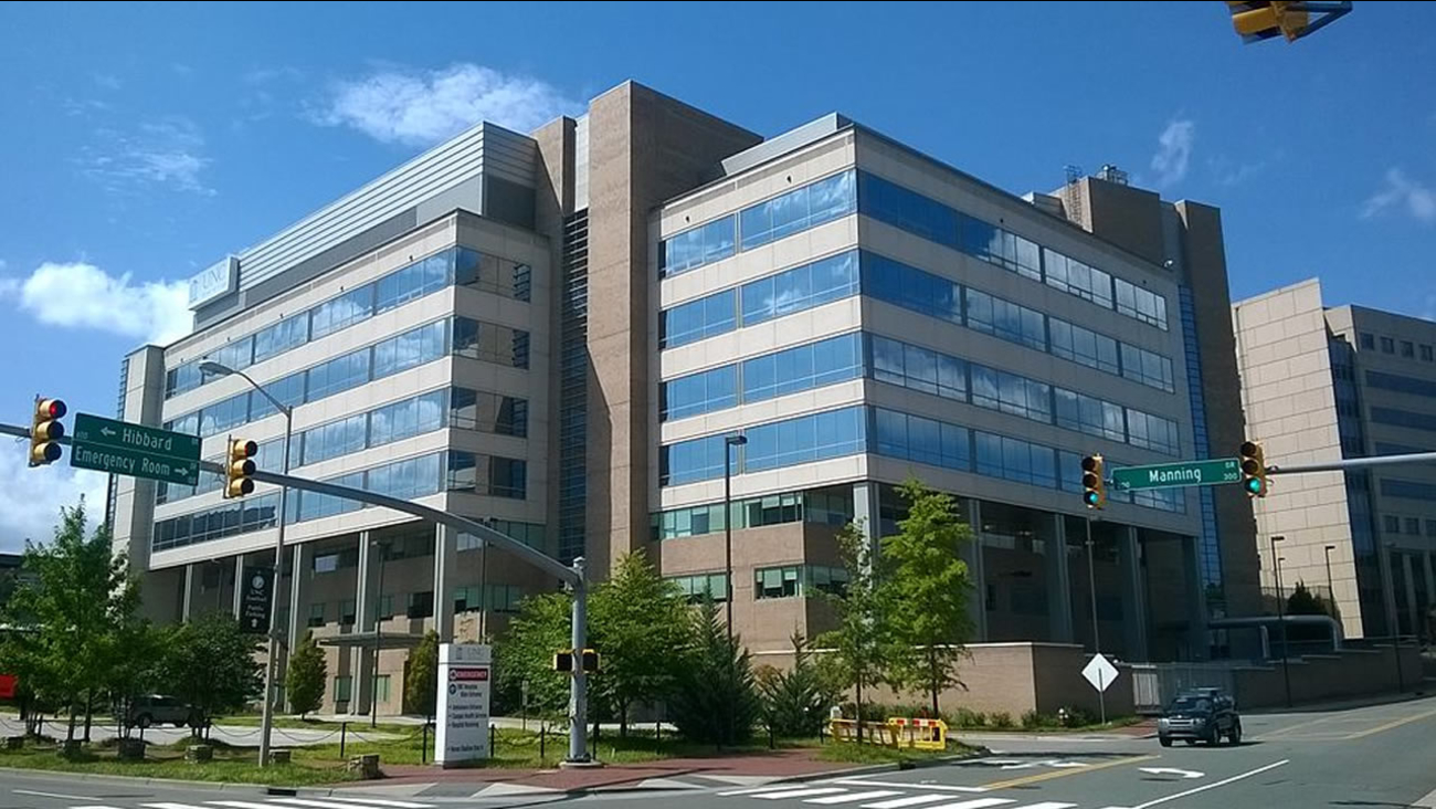 UNC Hospitals in Chapel Hill (image source: Wikimedia Commons)