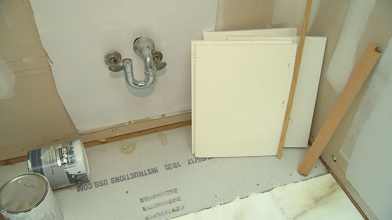 <div class='meta'><div class='origin-logo' data-origin='none'></div><span class='caption-text' data-credit='Source: ABC11'>No vanity or sink installed</span></div>