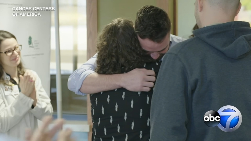 Cancer survivor meets stem-cell donor who saved her life