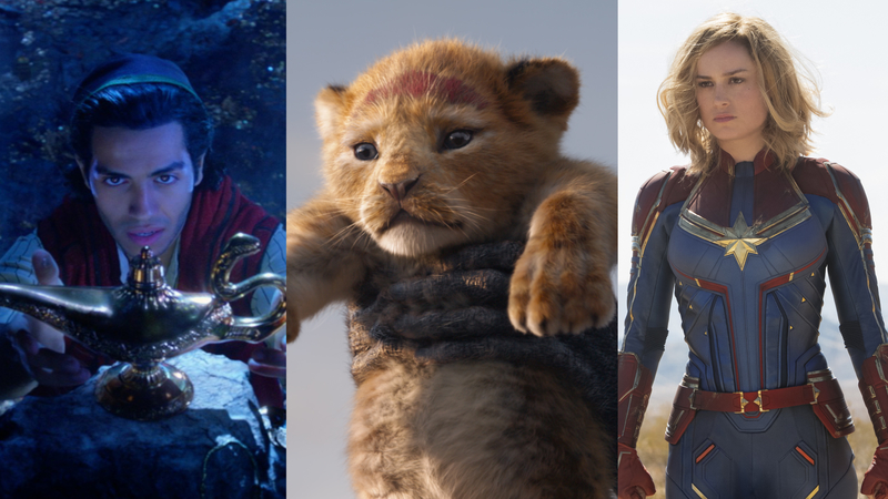 These Disney movies are hitting the big screen in 2019