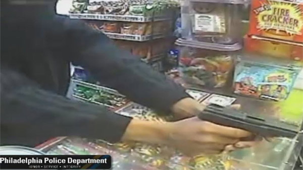 Suspect sought in Ogontz grocery store armed robbery