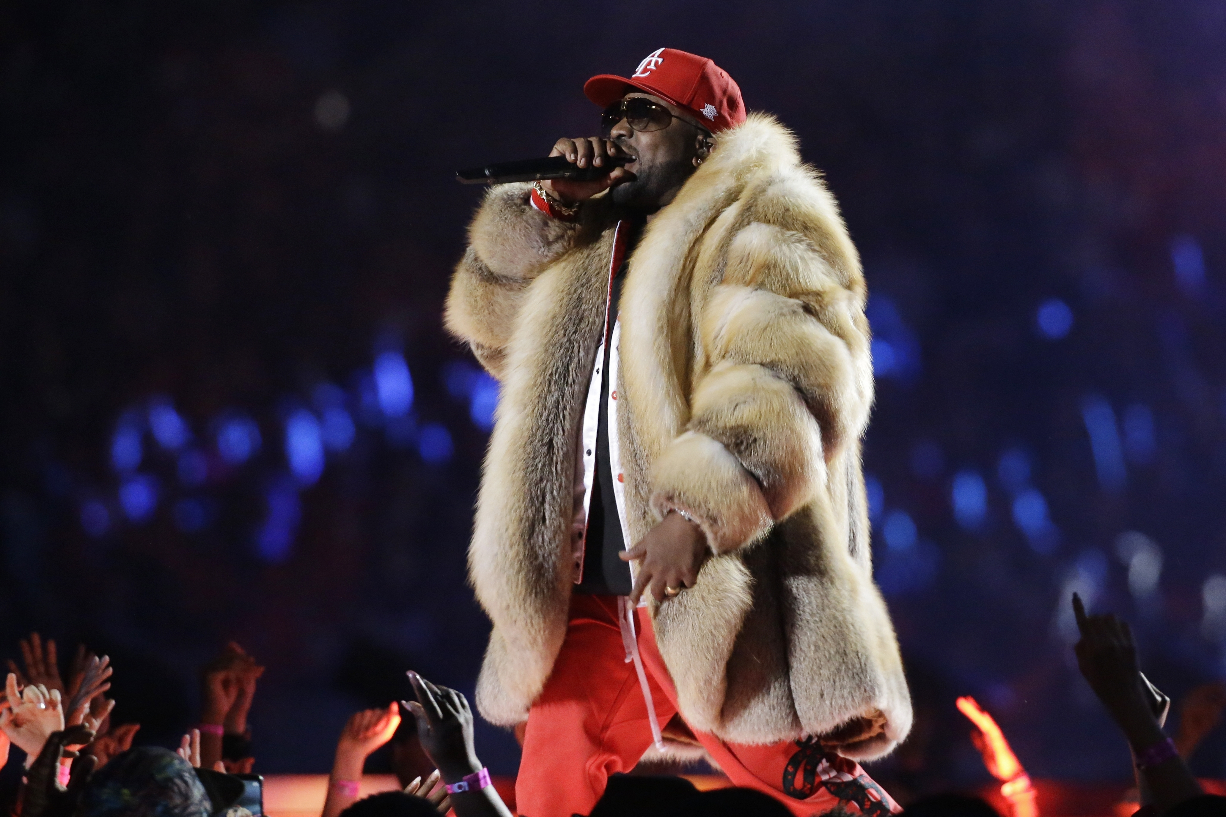"<div class=""meta image-caption""><div class=""origin-logo origin-image ap""><span>AP</span></div><span class=""caption-text"">Big Boi performs during halftime of the NFL Super Bowl 53 football game between the Los Angeles Rams and the New England Patriots Sunday, Feb. 3, 2019, in Atlanta. (AP Photo/Mark Humphrey)</span></div>"