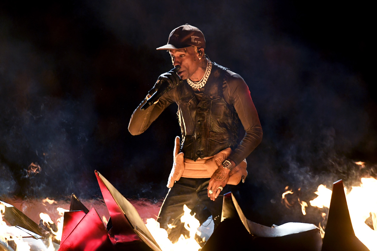 "<div class=""meta image-caption""><div class=""origin-logo origin-image kgo""><span>kgo</span></div><span class=""caption-text"">Travis Scott performs during the Pepsi Super Bowl LIII Halftime Show at Mercedes-Benz Stadium on February 3, 2019, in Atlanta, Georgia. (Kevin Winter/Getty Images)</span></div>"