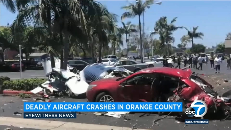 Recent fatal aviation crashes in Southern California
