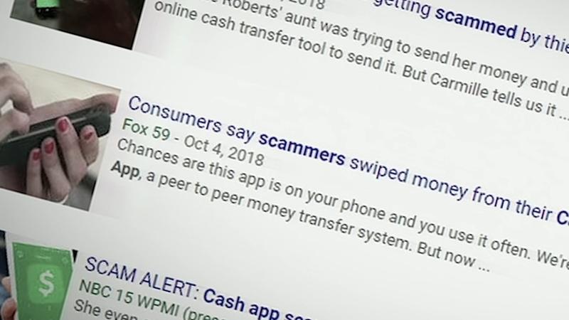 Beware of phishing scams for money transfer apps