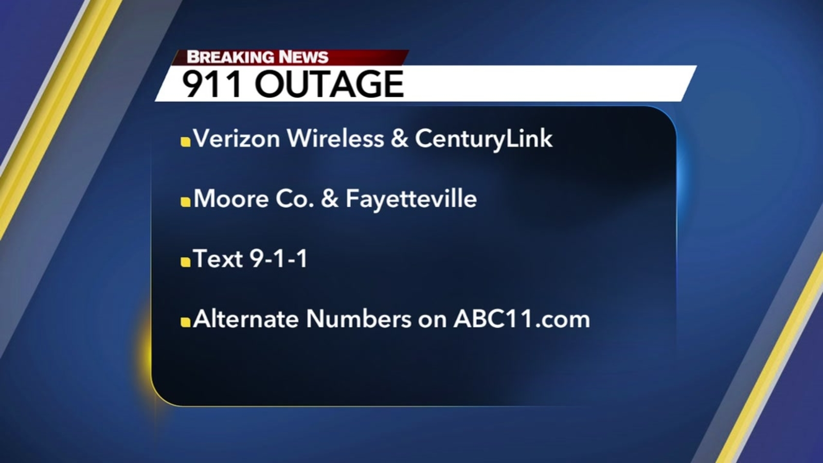 911 outage - photo #10