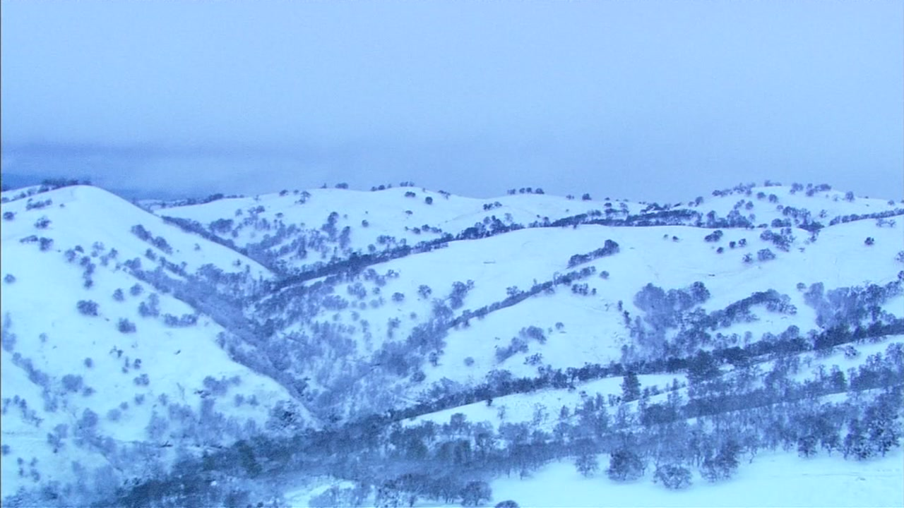 <div class='meta'><div class='origin-logo' data-origin='none'></div><span class='caption-text' data-credit='KGO-TV'>SKY7 was over the snow in the foothills between Mt. Hamilton and Livermore, Calif. on Tuesday, Feb. 5, 2019.</span></div>