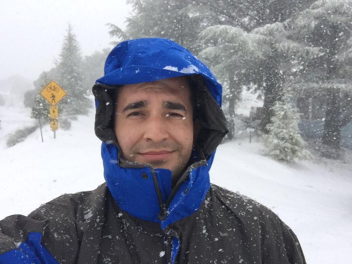 <div class='meta'><div class='origin-logo' data-origin='none'></div><span class='caption-text' data-credit='KGO-TV'>Snow falls on Mt. Hamilton on Monday, Feb. 4, 2019.</span></div>