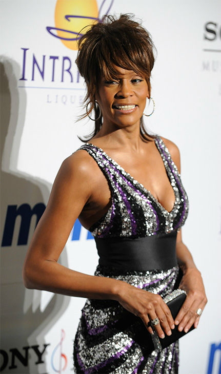 """<div class=""""meta image-caption""""><div class=""""origin-logo origin-image none""""><span>none</span></div><span class=""""caption-text"""">Feb. 2008: Houston looks back for photographers at the Clive Davis Pre-Grammy Party in Beverly Hills, Calif. (Photo/AP Photo)</span></div>"""