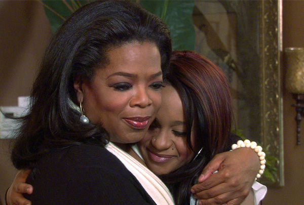 """<div class=""""meta image-caption""""><div class=""""origin-logo origin-image none""""><span>none</span></div><span class=""""caption-text"""">Mar. 2012: Oprah Winfrey, left, embraces Bobbi Kristina Brown in an interview, after her mother Whitney Houston was found dead at the Beverly Hilton. (Photo/AP Photo)</span></div>"""
