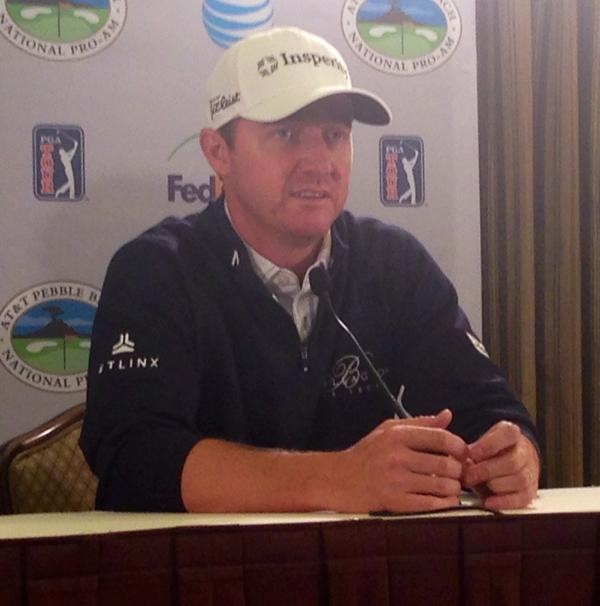 "<div class=""meta image-caption""><div class=""origin-logo origin-image none""><span>none</span></div><span class=""caption-text"">Defending champ, Jimmy Walker, ready to defend his crown at AT&T Pebble Beach National Pro-Am on Tuesday, Feb. 10, 2015. (ABC7 News/Mike Shumann)</span></div>"