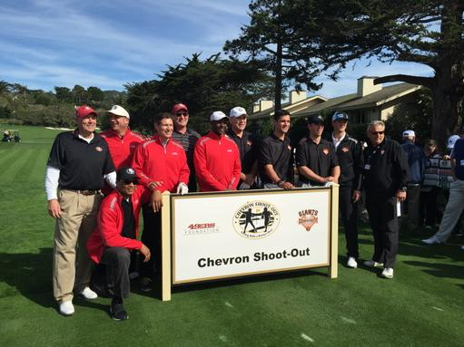 "<div class=""meta image-caption""><div class=""origin-logo origin-image none""><span>none</span></div><span class=""caption-text"">A group of current and former Giants and 49ers compete in the Chevron shootout at AT&T Pebble Beach National Pro-Am on Tuesday, Feb. 10, 2015. (ABC7 News/Mike Shumann)</span></div>"