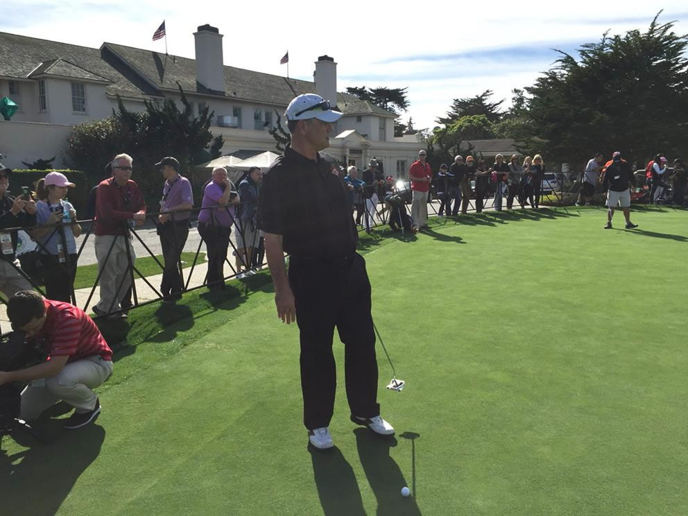 "<div class=""meta image-caption""><div class=""origin-logo origin-image none""><span>none</span></div><span class=""caption-text"">SF Giants manager Bruce Bochy at AT&T Pebble Beach National Pro-Am on Tuesday, Feb. 10, 2015. (ABC7 News/Mike Shumann)</span></div>"
