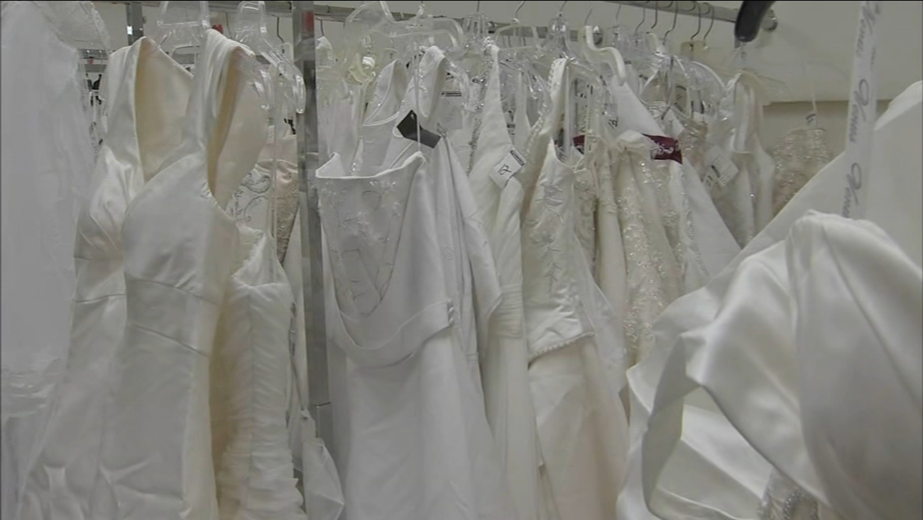 Whats The Deal Deep Discounts At The Goodwill Bridal Sale 6abc