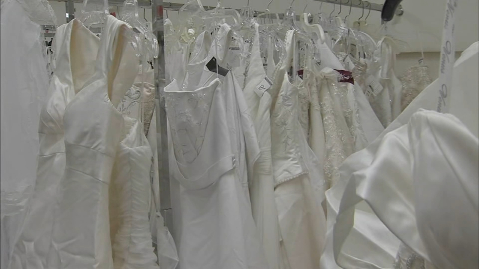 What S The Deal Deep Discounts At The Goodwill Bridal Sale 6abc Philadelphia,Short Red Dress For Wedding