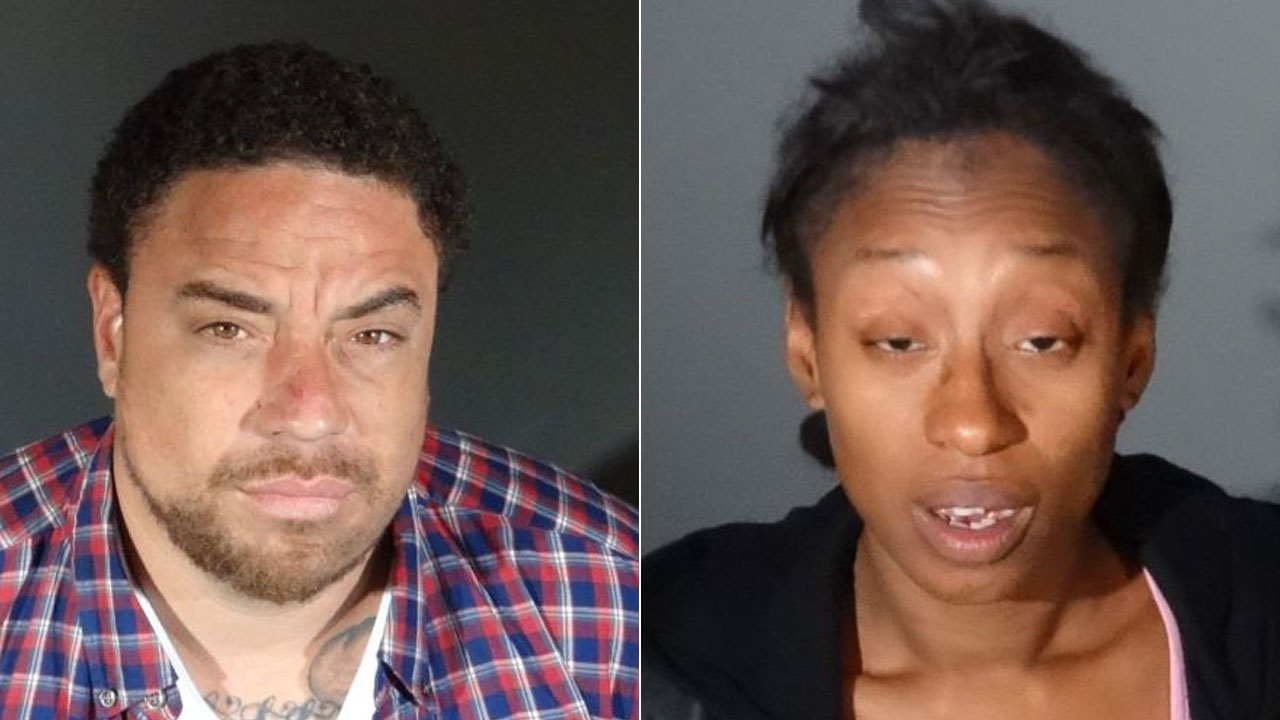 Adam Manson and Kiana Williams are shown in photos provided by Culver City police.