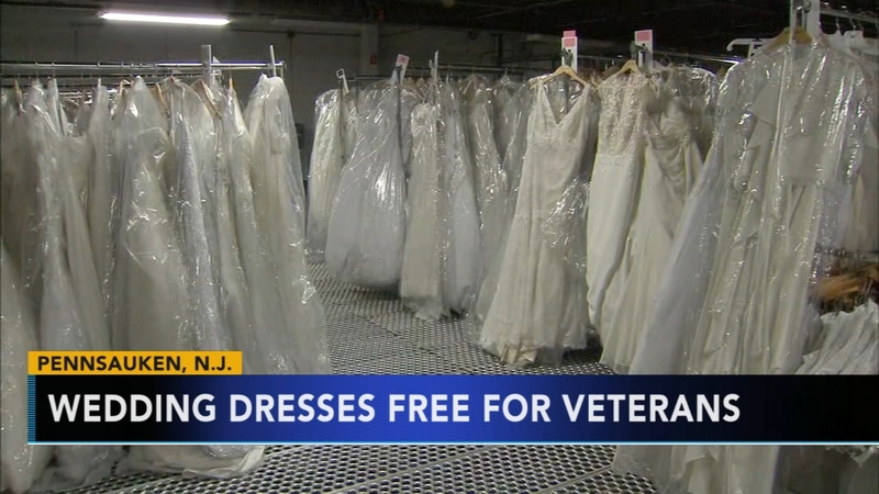 Wedding Dress Donation.Camden County Donates Hundreds Of Wedding Dresses To Veteran Families