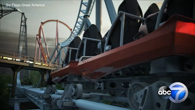 Maxx Force Take A Virtual Ride On Six Flags Great Americas Newest Roller Coaster