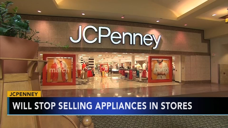Jcpenney To Stop Selling Appliances And Furniture In Stores 6abc Com