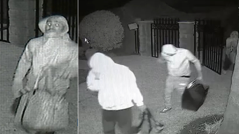VIDEO: Burglars steal from West Covina home being fumigated