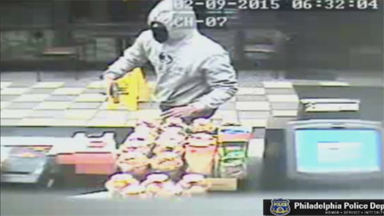 New surveillance video of Olney Dunkin Donuts armed robbery