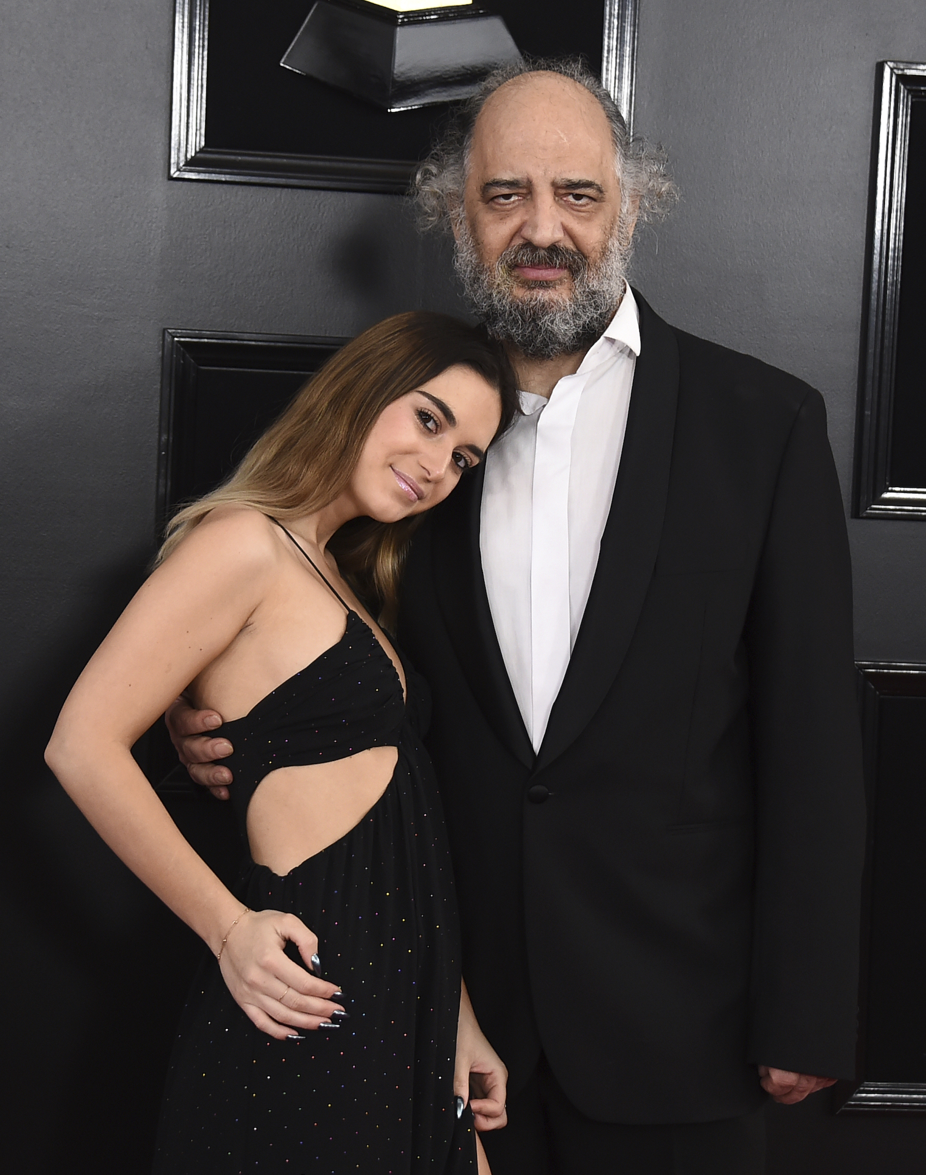 <div class='meta'><div class='origin-logo' data-origin='AP'></div><span class='caption-text' data-credit='Jordan Strauss/Invision/AP'>Anastasia Blomstrand, left, and Sergey Erdenko arrive at the 61st annual Grammy Awards at the Staples Center on Sunday, Feb. 10, 2019, in Los Angeles.</span></div>