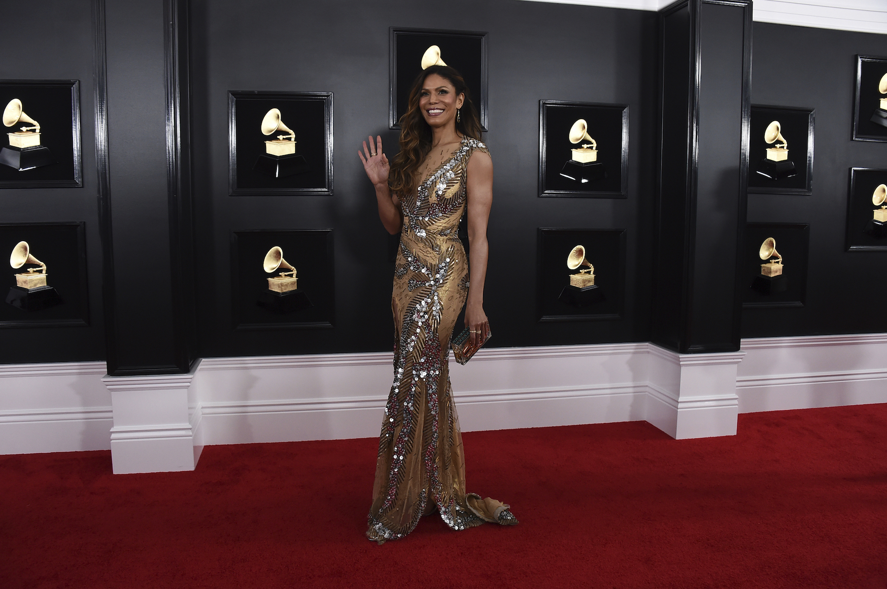 "<div class=""meta image-caption""><div class=""origin-logo origin-image ap""><span>AP</span></div><span class=""caption-text"">Merle Dandridge arrives at the 61st annual Grammy Awards at the Staples Center on Sunday, Feb. 10, 2019, in Los Angeles. (Jordan Strauss/Invision/AP)</span></div>"