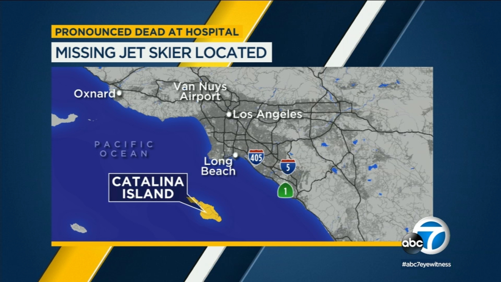 20 Year Old Jet Skier S After Going Missing For Hours Off Coast Of Long Beach