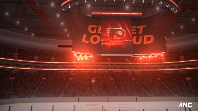 Wells Fargo Center To Debut World S First Kinetic 4k Scoreboard