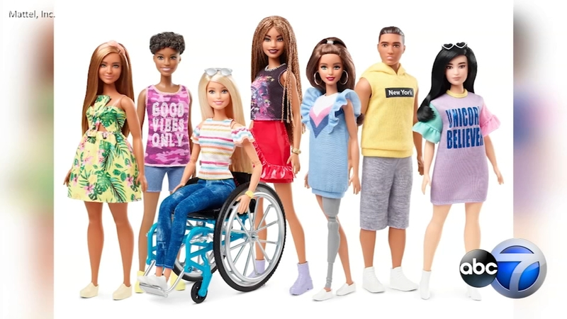 big sale cheap sale detailing Barbie introduces dolls with wheelchairs and prosthetic limbs