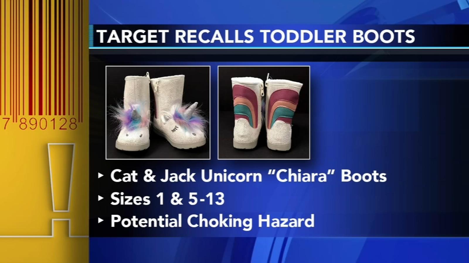 8b8b342966f5 Target recalls Cat and Jack Chiara unicorn toddler boots
