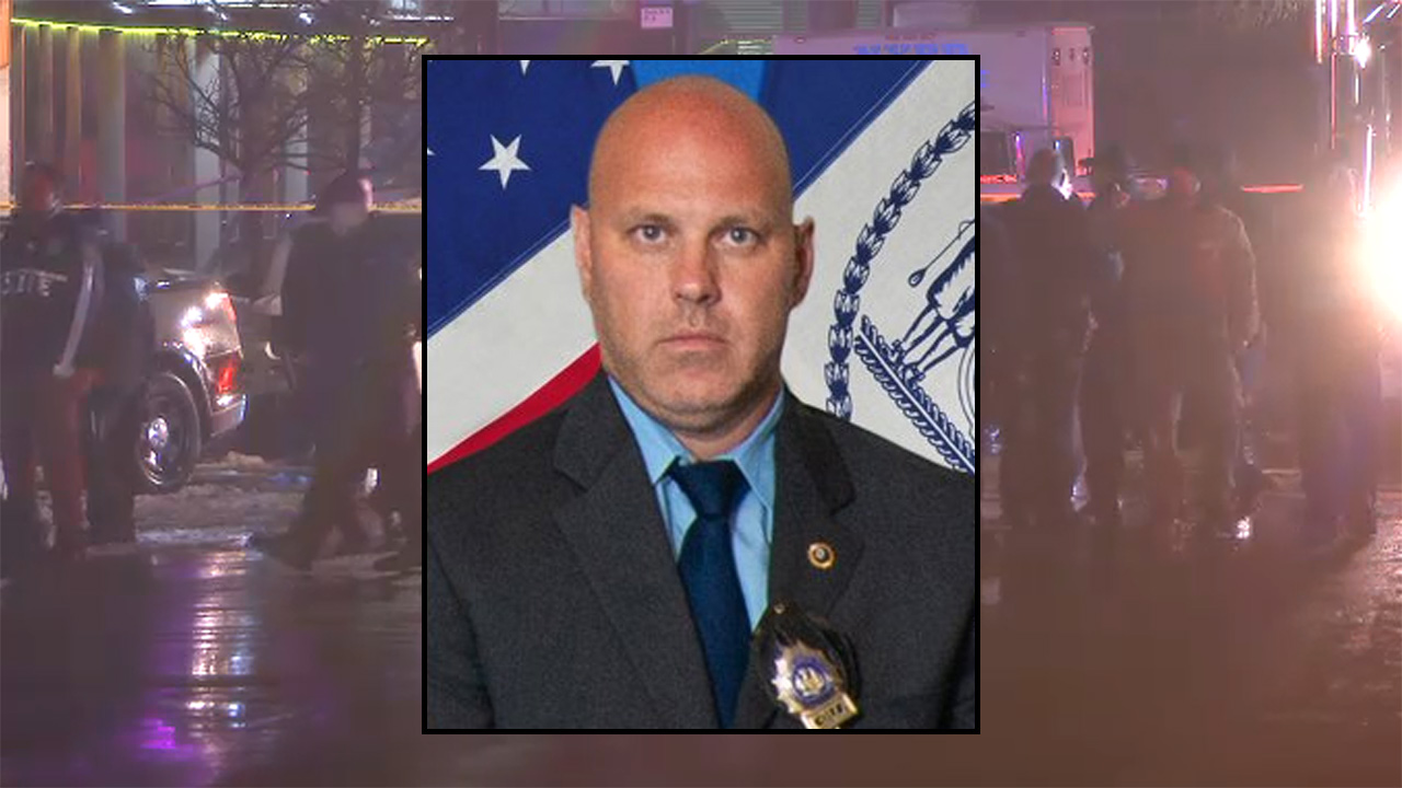 NYPD Detective Brian Simonsen killed by friendly fire during Queens robbery