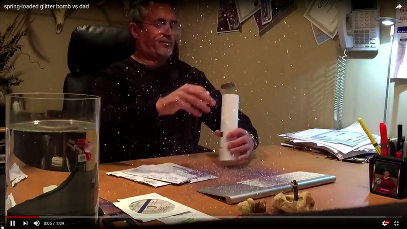 Prank glitter bomb explodes in Wake County commissioner's home